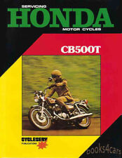 Honda Cb500T Shop Manual Repair Book Service Twin Workshop Guide 500 71-76 72 73