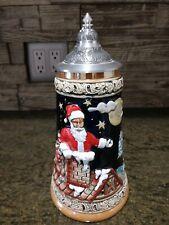 Vintage 1993 Christmas Commemorative Handerbeit Beer Stein/Germany