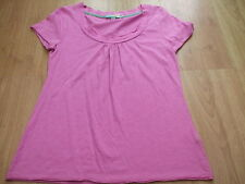 Scoop Neck Short Sleeve Textured Other Tops for Women