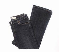 "GAP Flare Stretch Jeans, Black Wash, Size 10A (28"" Inseam) EUC"