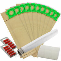Service Kit for SEBO Vacuum 10 Bags Filters Hoover Filter XP2 XP3 X4 Pet Fresh