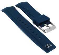 Tommy Hilfiger Ersatzband Uhrenarmband 679302062 Silikon Band blau 1791349