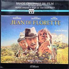 Depardieu JEAN DE FLORETTE LP Jean-Claude Petit Yves Montand Film Soundtrack OST