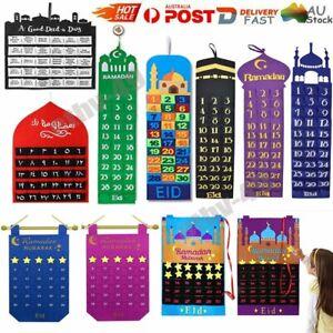 Ramadan Calendar Countdown Decorations Gifts Eid Mubarak Ramadan Kareem D7
