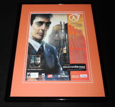 Half Life 2 Counterstrike 2005 11x14 Framed ORIGINAL Advertisement
