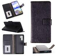 Handy Tasche für Huawei Schutz Hülle Flip Case Wallet Etui Schale Klapphülle