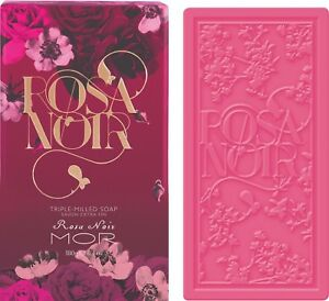 MOR NEW Launched Rosa Noir BOXED TRIPLE-MILLED SOAP Free Shipping