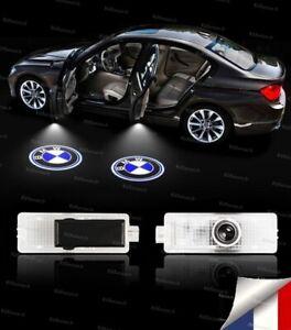 2X LED LOGO PORTE POUR BMW PROJECTEUR AMPOULE E87 E88 E90 E91 E92 E60 X1 X3 Z GT