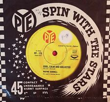 45rpm single - Wayne Cornell - Cool, Calm And Collected/Drum Majorette (Exc)