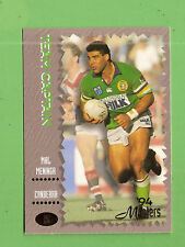 1994 MASTERS RUGBY LEAGUE CARD #15  MAL MENINGA, CANBERRA  RAIDERS