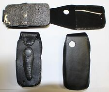 Leather Flip Case Samsung S5510T, S5511T with Belt Clip