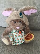 NWT Brass Button Collectables FLORA The Hare of Serenity Stuffed Rabbit