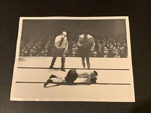 Stunningly Clean Original 1932 Jack Dempsey Type 1 Boxing Photo PSA Ready Mint