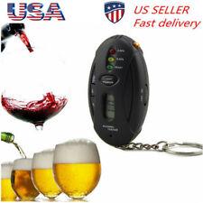 Alcohol Breath Analyzer Breathalyzer Tester Detector Test Keychain