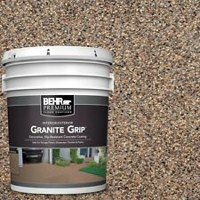 5 gal. Concrete Floor Coating Paint Brown Tan Speckled Protective Garage Outdoor
