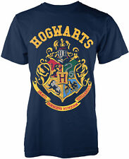 HARRY POTTER Hogwarts Crest T-SHIRT OFFICIAL MERCHANDISE