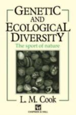 Genetic and Ecological Diversity by Lawrence M. Cook (1991, Paperback)