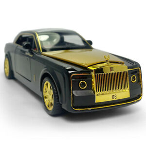 1:24 Rolls-Royce Sweptail Coupe Model Car Diecast Kids Gift Toy Vehicle  Black