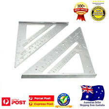 Aluminum Alloy Speed Square Protractor Miter Framing Measurement Carpenter