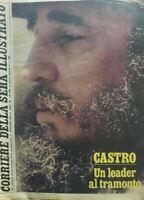 CORRIERE DELLA SERA ILLUSTRATO N.31 1980 FIDEL CASTRO