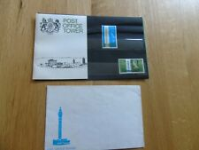 1965 Great Britain - Post Office Tower Presentation Pack + envelope