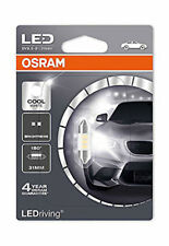 Osram LED blanco frío 6000K C5W 239 36 mm SV8.5-8 Festoon Bombilla Interior 6436CW-01B