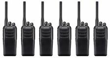 KENWOOD TK-D300E2 UHF 4 WATT DMR DIGITAL WALKIE-TALKIE TWO WAY RADIO x 6 PROMO