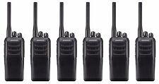 Kenwood TK-D300E2 Uhf 4 Watt DMR Digital Walkie-Talkie Radio De Dos Vías X 6 Promo