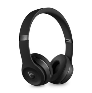 NEW! ~ Beats Solo (3) Icon Collection Wireless Headphone ~ Matte Black Color ~