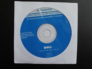 NEW Dell CyberLink PowerDVD 5.7 Software CD/Sealed