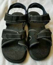 ea8c9726f94 OP Mens Mongogila Black Blue Sport Sandal Size US 11 EUC