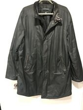 John Varvatos Collection Coat Parka With Leather Collar EU54