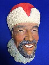 Tibetan - Bossons Chalk Ware England Hand Painted Head Figure