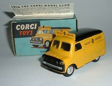 Corgi Toys No. 408, Bedford AA Road Service Van, - Superb Mint