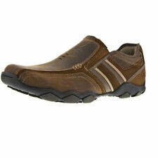 Skechers Leather Slip - On Casual Shoes for Men