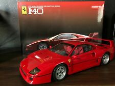 Rare 1:12 Kyosho Ferrari F40 Testarossa Die Cast Model Red from Japan F/S Used