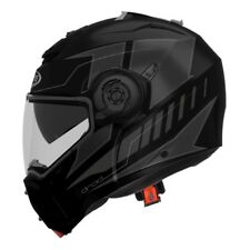 Casco modulare apribile moto Caberg Droid Blaze nero grigio taglia L