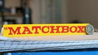 """MATCHBOX"" self standing logo display (old version logo)"