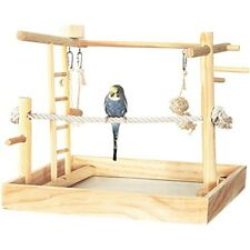 Small Medium Bird Playground Gym Stand for Conures Cockatiel Parakeet Parrot NEW