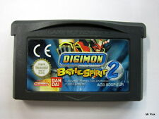DIGIMON BATTLE SPIRIT 2 Game Boy Advance Gba Nintendo Pal Bandai Usato