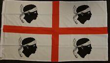 Sardinian Flag Italian Island Mediterranean Tourism Business Sports Political bn