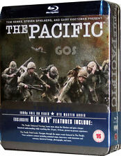 The Pacific Blu-Ray Box Set 10 Part Spielberg War Drama tin 6 DVD New Sealed