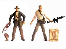 "Indiana Jones 3.75"" KINGDOM of the CRYSTAL SKULL Movie series Action Figures M55"
