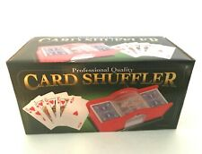 Professional Quality Card Shuffler by Kangaroo 1-2 Decks Great Gift New in Box