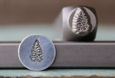 SUPPLY GUY 8mm Pine Tree Metal Punch Design Stamp SGCH-198