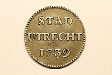 Netherlands / Utrecht - zilveren duit 1739 *quality* (#34)