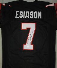 Bengals BOOMER ESIASON Signed Custom Black Jersey AUTO - MVP - JSA