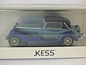 Kess Scale Models 1/43rd 1931 Alfa Romeo 6C 1750 GTC Castagna in Metallic Blue