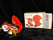 3 CLASSIC EASTER SPRING BIRD & SQUIRREL & FROG TIN WINDUPS TOYS NEW MINTinBOX
