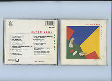 Elton John 21 at 33 West Germany Blue Diamond Rocket Label 1983 1st Press CD OOP